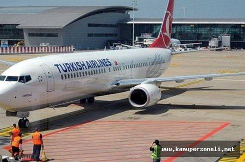 THY Uçağı Bomba Şüphesiyle Güvenlik Aramasına Alındı