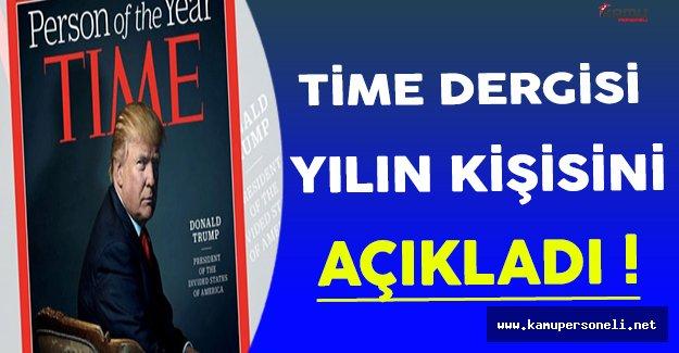 Time Dergisi 'Yılın Kişisi'ni Açıkladı