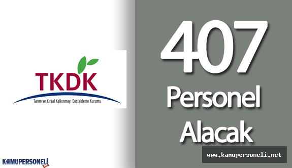 TKDK, 39 Şehir için 407 Personel Alımı Yapacak