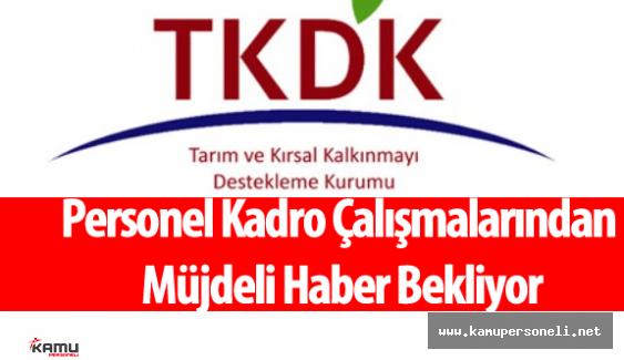 TKDK Personeli Kadro Konusunda Müjdeli Haber Bekliyor