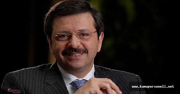 TOBB Başkanı Hisarcıklıoğlu Vize Muafiyeti Hakkında Konuşma Yaptı