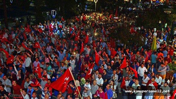 Trabzon'da Darbe Girişimine Tepki