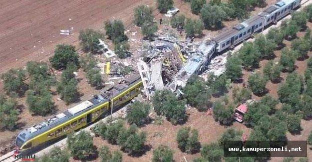 Tren Kazasında Hayatını Kaybedenlerin Sayısı 20'ye Yükseldi