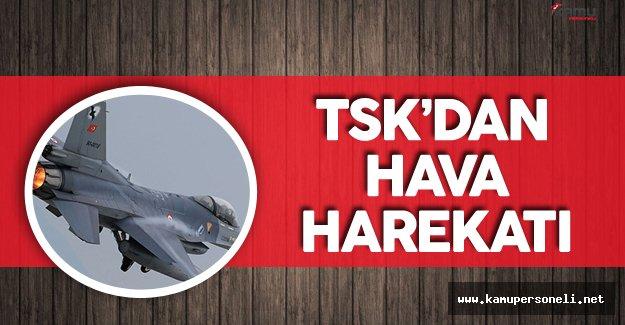 TSK Hava Harekatı Düzenledi ! 18 Hedef Bombalandı