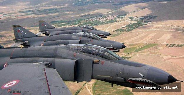 TSK Lice, Zap, Metina ve Şemdinli Kırsalına Hava Harekatı Düzenledi