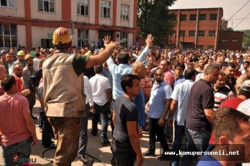 TTK'nın Özelleştirileceği İddiasından Dolayı Kömür İşçilerinden Yürüyüş