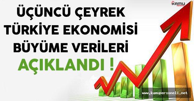 TÜİK Türkiye Ekonomisi Büyüme Verilerini Açıkladı