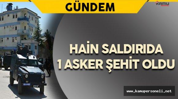 Tunceli'de Karakola Hain Terör Saldırısı
