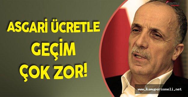 """Türk İş :""""Asgari Ücret 1600 TL Olsun!"""""""