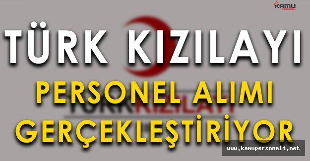 Türk Kızılayı Sosyal Hizmet Uzmanı Alımı Gerçekleştiriyor
