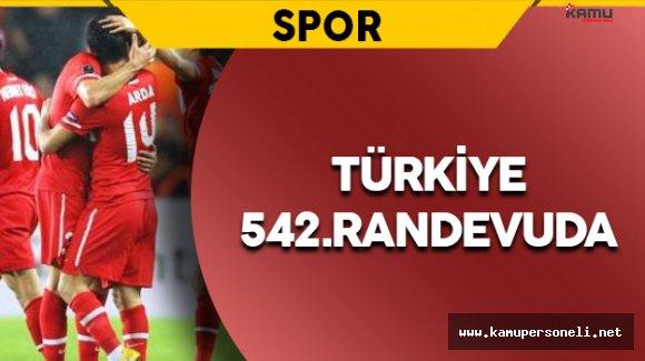 Türk Milli Takımı 542.Randevuda