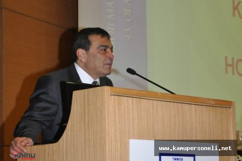 Türk Mühendis ve Mimar Odası Başkanlığına Emin Koramaz Getirildi