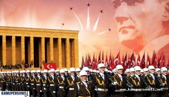 Türk Silahlı Kuvvetleri Faaliyet Duyurusu