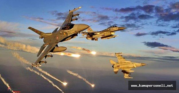 Türk Silahlı Kuvvetleri Irak'ın Kuzeyine Hava Harekatı Yaptı