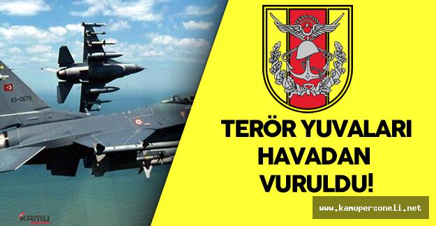 Türk Silahlı Kuvvetleri Kandil ve Lice'yi Havadan Vurdu
