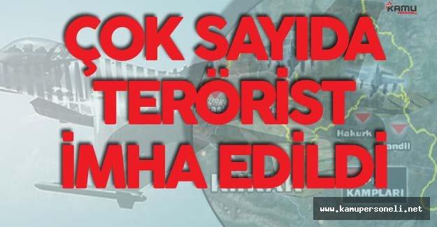 Türk Silahlı Kuvvetleri Terörist Barınaklarını Vurdu ! Çok Sayıda Terörist İmha Edildi