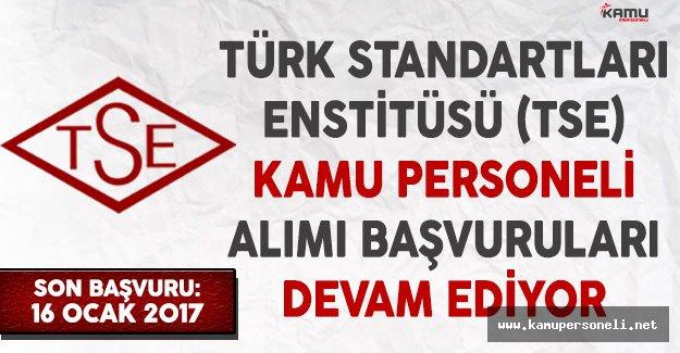Türk Standartları Enstitüsü (TSE) Kamu Personeli Alımı Başvuruları Devam Ediyor! Kimler Başvuru Yapabilir?