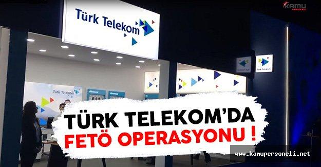 Türk Telekom'da 50 Kişi FETÖ'den Tutuklandı !
