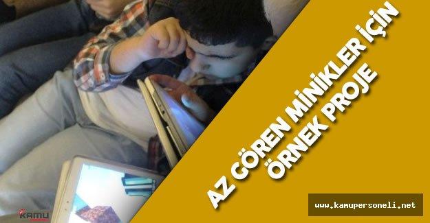 Türk Telekom'dan Az Gören Çocuklar için Oyun Uygulaması