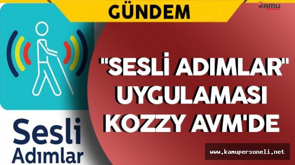 """Türk Telekom'un Geliştirdiği """"Sesli Adımlar"""" Uygulaması Kozzy AVM'de"""