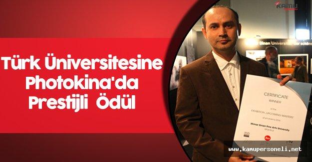 Türk Üniversitesine Photokina'da Prestijli  Ödül