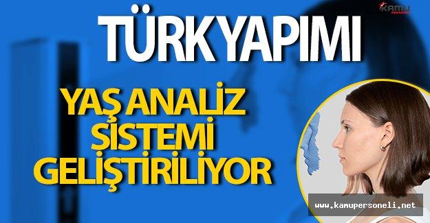 Türk Yapımı Yaş Analiz Sistemi Geliştiriliyor