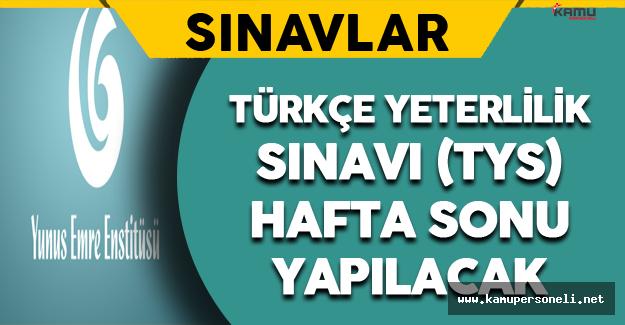 Türkçe Yeterlilik Sınavı Bu Hafta Sonu Yapılacak
