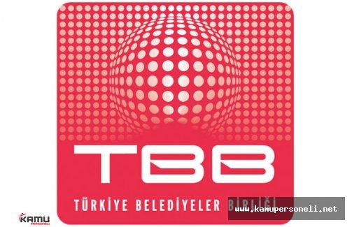 Türkiye Belediyeler Birliği Personel Alımı İlanı