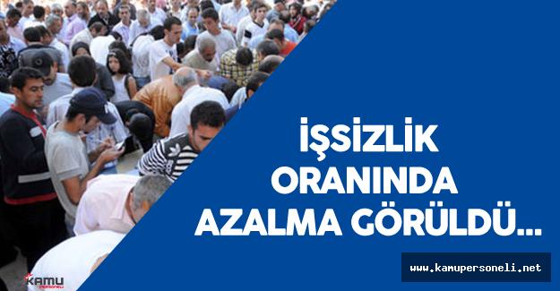 Türkiye'de İşsizlik Oranı Düştü