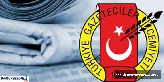 Türkiye Gazeteciler Cemiyetinin Yeni Yönetimi Seçildi