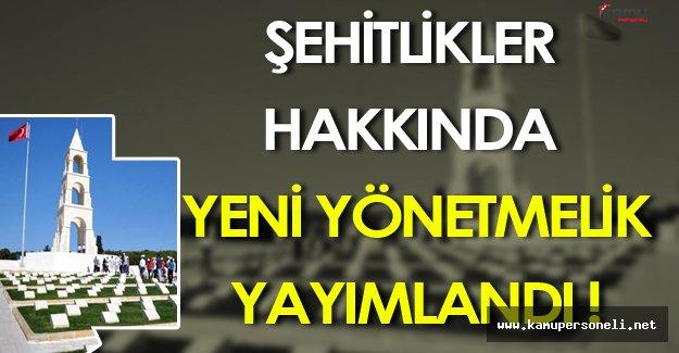 Türkiye Genelindeki Şehitlikler İçin Yeni Yönetmelik Yayımlandı