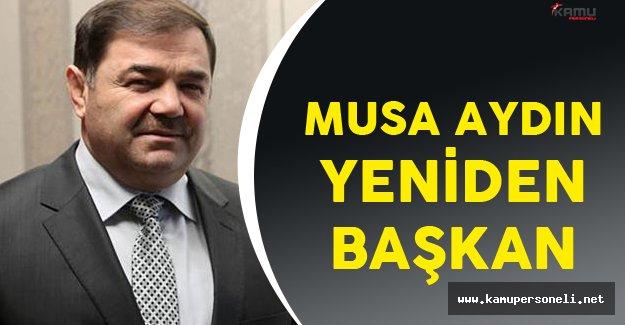 Türkiye Güreş Federasyonu'nda Musa Aydın Yeniden Başkanlığa Seçildi