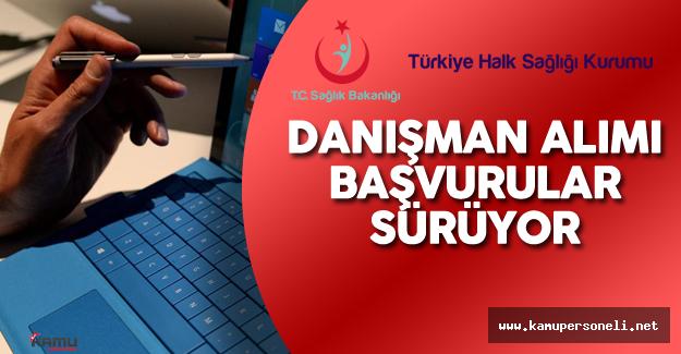 Türkiye Halk Sağlığı Kurumu Danışman Alımı Başvurular Sürüyor