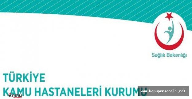 Türkiye Kamu Hastaneleri Kurumu Danışman Personel Alımı