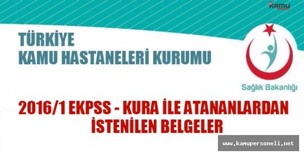 Türkiye Kamu Hastaneleri Kurumundan EKPSS atamalarına dair duyuru