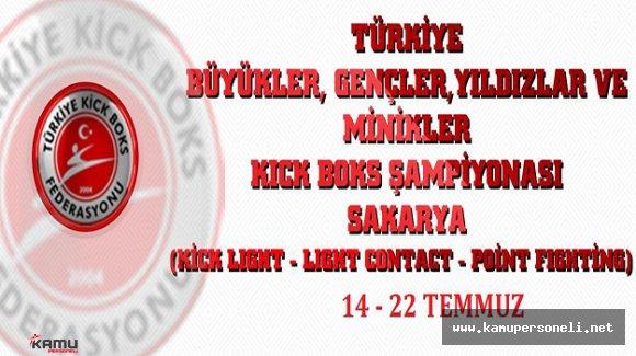 Türkiye Kick Boks Şampiyonası Sakaryada Başladı
