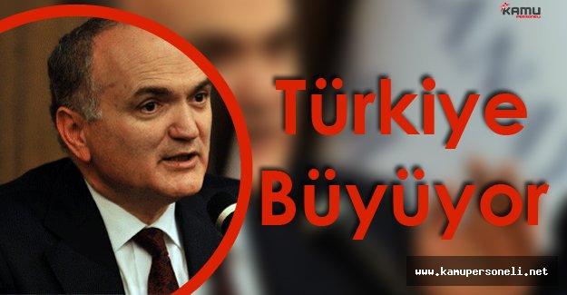 Türkiye Yatırımlar Yapıp Büyümeye Devam Ediyor