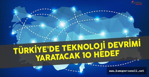 Türkiye'de Sanayi Devrimi İçin 10 Teknolojik Hedef Belirlendi