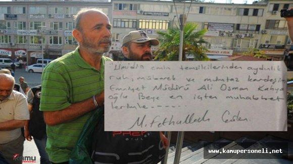 Tutuklu Emniyet Müdürünün Evinden Gülen Notu Çıktı