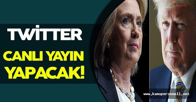 Twitter Başkanlık Seçimlerini Canlı Olarak Yayınlayacak