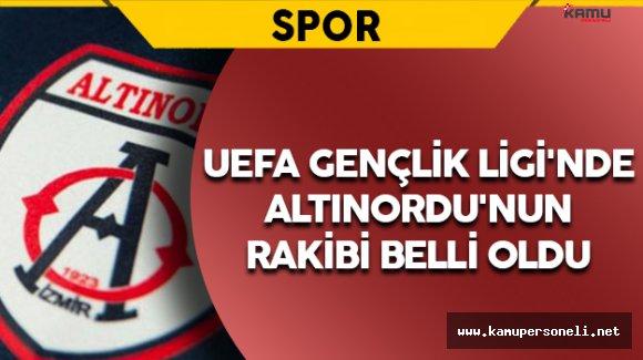 UEFA Gençlik Ligi'nde Altınordu'nun Rakibi Belli Oldu