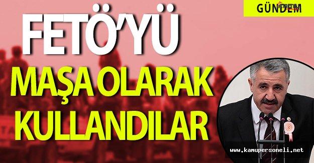 """Ulaştırma Bakanı Ahmet Arslan: """" Fetö'yü maşa olarak kullandılar. """""""