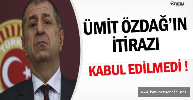 Ümit Özdağ'ın İhraç İtirazı MHP Tarafından Kabul Edilmedi