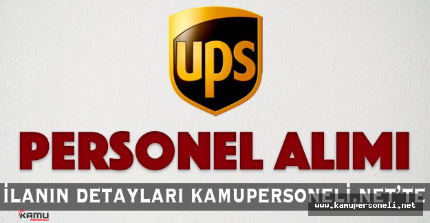 UPS Kargo Personel Alıyor