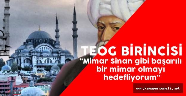 Uşak Valisi ile TEOG Türkiye Birincisi Bir Araya Geldi
