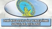 DHMİ KPSS 2016/2 Yerleştirme Sonuçları Açıklandı !