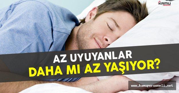 Uzmanlar Açıkladı: Az Uyuyanlar Daha Mı Az Yaşıyor?
