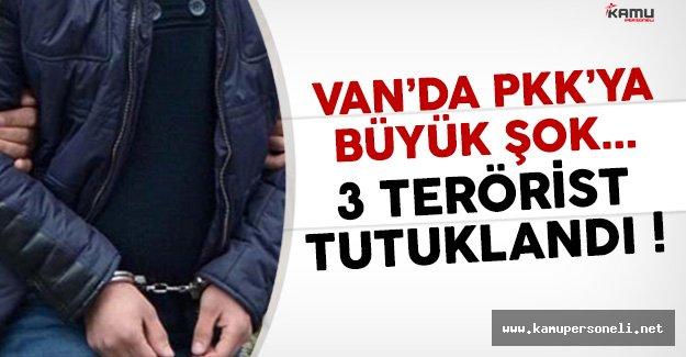Van'da 3 PKK'lı Terörist Tutuklandı