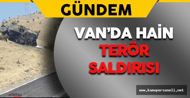 Van'da Hain Terör Saldırısı