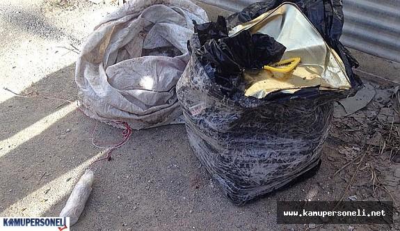 Vatandaşlar ihbar etti, TNT'li tuzak bulundu